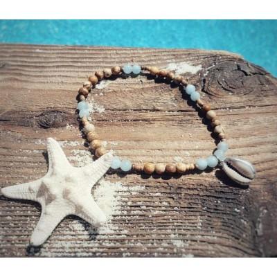 Bracelet de cheville Aventurier / Collection méditerranéenne