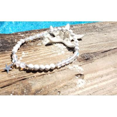 Bracelet de cheville PUR état d'esprit/ Collection méditerranéenne