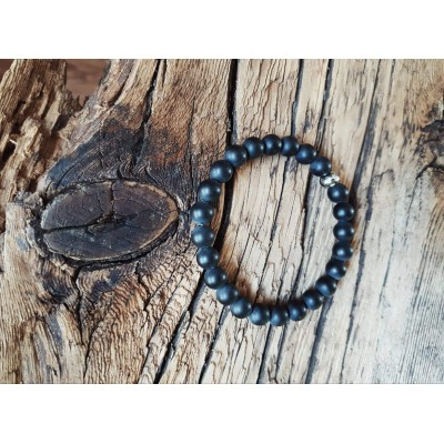 Bracelet L'incontournable Onyx / Collection THE MAN/ Unisex
